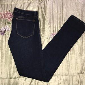 JBRAND Pencil Leg Jeans in Ink
